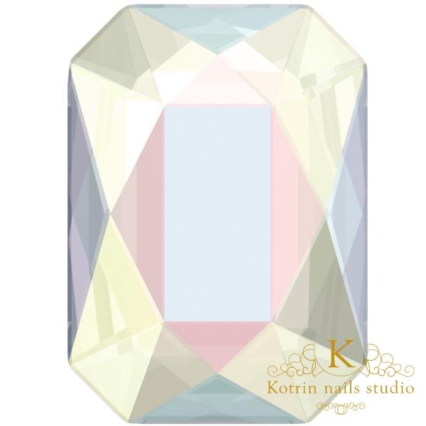 Kristalai SWAROVSKI 2602(AB) 8*5.5mm, 10vnt