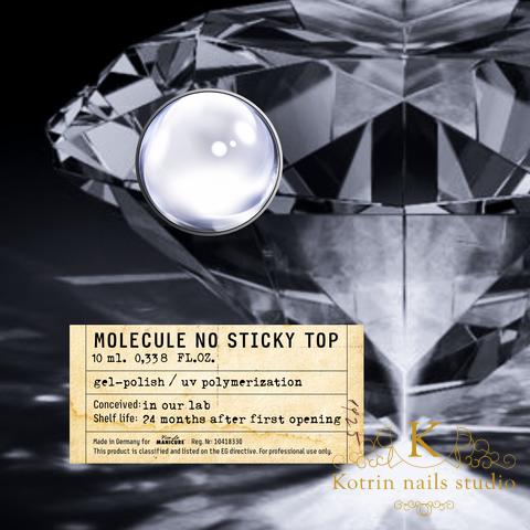 "Viršutinis sluoksnis be dspersinio sluoksnio Viva La Manicure ""Molecule No Sticky Top"", 10ml"
