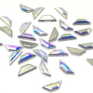 Kristalai SWAROVSKI 2772(AB) 6.5*2.1mm, 10vnt