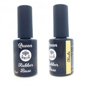 "Maskuojantis gelinio lakavimo pagrindas Bee Professional ""Queen Bee Rubber Base Nude"", 15ml"