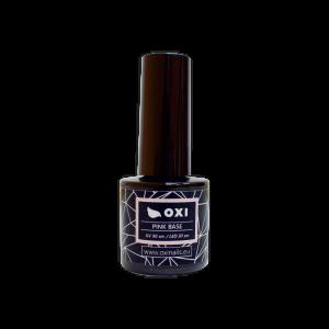 "Pagrindas geliniam lakavimui OXI ""FRENCH PINK BASE"", 15ml"