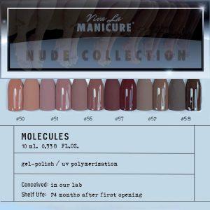 """Gelinis lakas Viva La Manicure """"MOLECULE GEL POLISH"""", Nr. 58, 10 ml."""